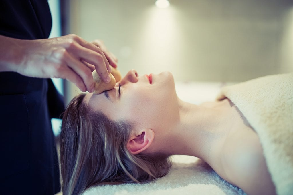 Avoid Skin stressors with face massage